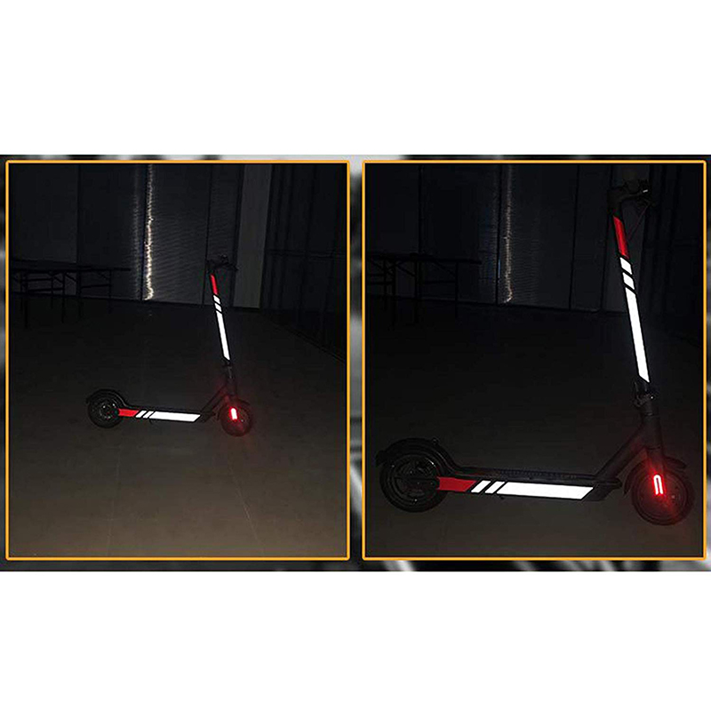 Reflective-Stickers-For-Xiaomi-Mijia-M365-Electric-Scooter-Reflect-Light-Ta-D7P6 thumbnail 11