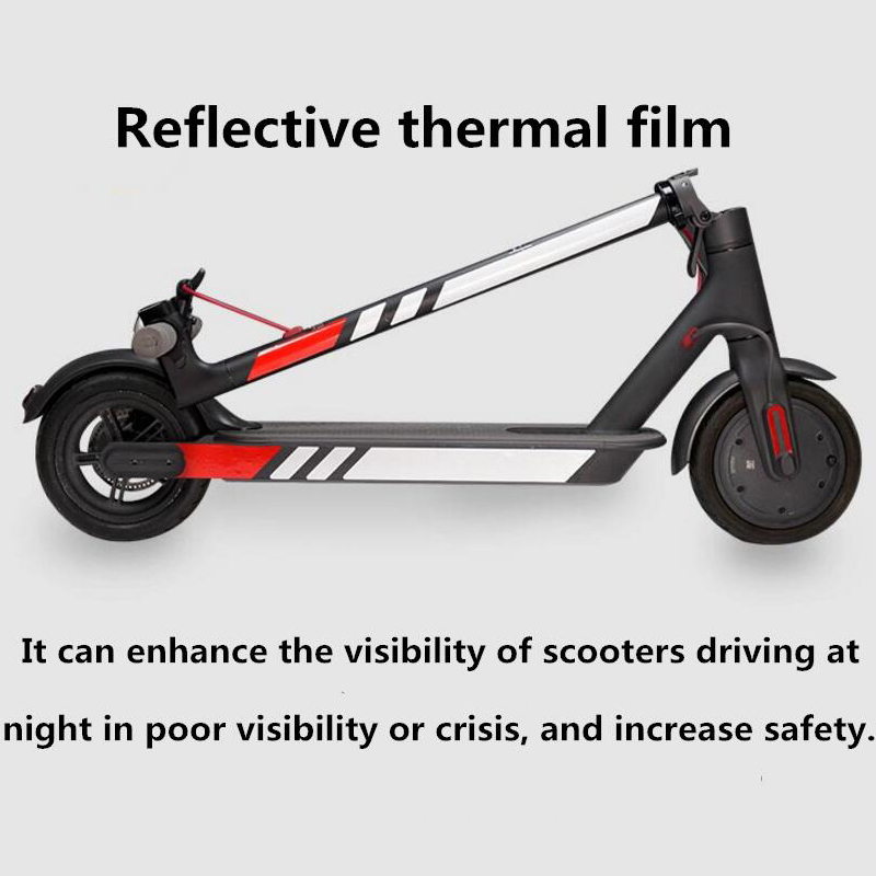 Reflective-Stickers-For-Xiaomi-Mijia-M365-Electric-Scooter-Reflect-Light-Ta-D7P6 thumbnail 15