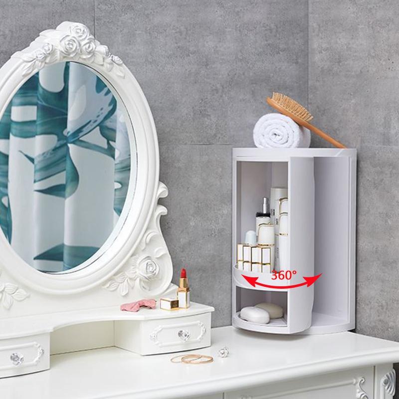 Badezimmer 360 Grad Dreieckregal KüChe Toilette Regal ...