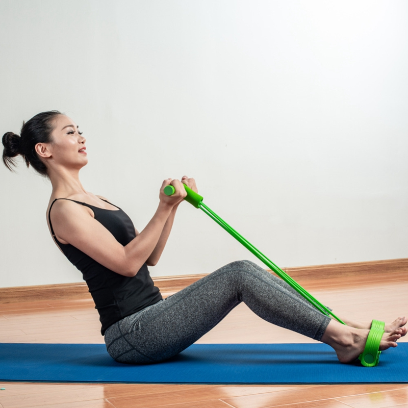 miniatura 5 - 1X(Equipo de Fitness Pedal de Cuatro Patas Puller Pedal Yoga Puller Disposi T9F1
