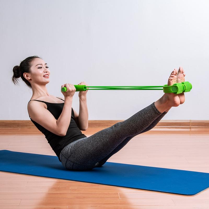 1X-Equipo-de-Fitness-Pedal-de-Cuatro-Patas-Puller-Pedal-Yoga-Puller-Disposit-MIJ miniatura 6