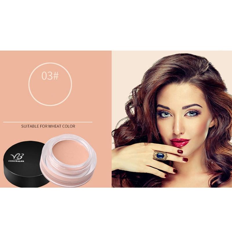 Details about VIBELY Concealer Cream Best Face Cover Blemish Dark Spot Eye  Lip Contour Ma K9W7
