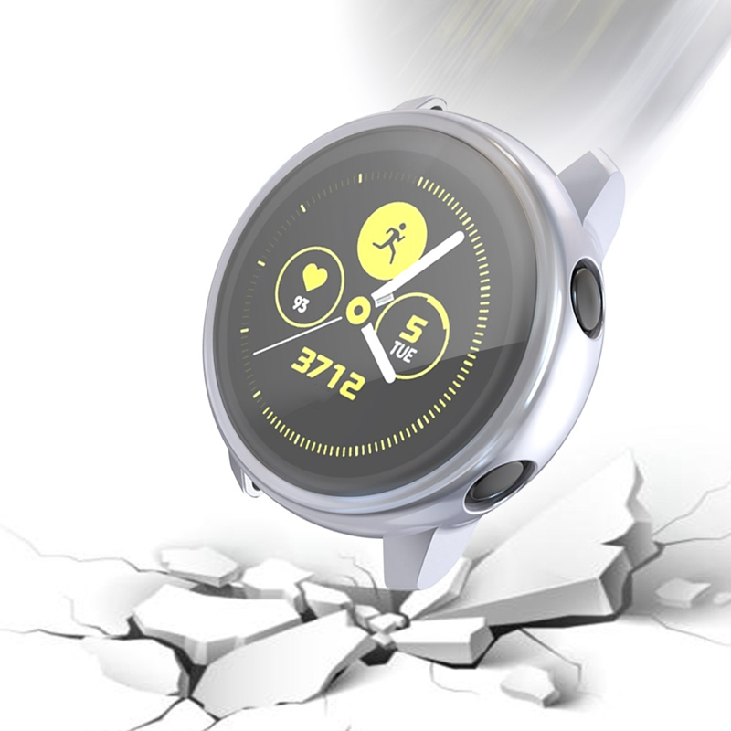 Screen-Protector-Case-For-Samsung-Galaxy-Watch-Active-All-Around-Ultra-Thin-F2E thumbnail 8