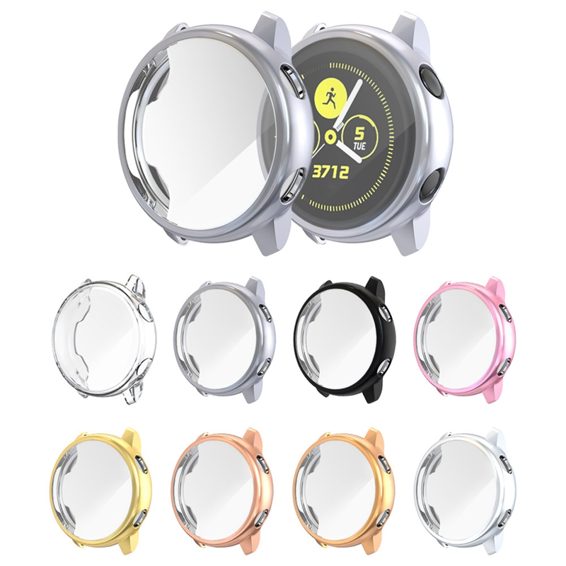 Screen-Protector-Case-For-Samsung-Galaxy-Watch-Active-All-Around-Ultra-Thin-F2E thumbnail 9