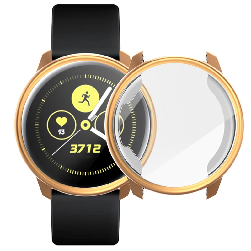 Screen-Protector-Case-For-Samsung-Galaxy-Watch-Active-All-Around-Ultra-Thin-F2E thumbnail 13