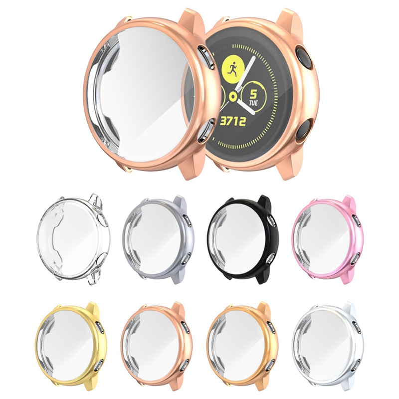 Screen-Protector-Case-For-Samsung-Galaxy-Watch-Active-All-Around-Ultra-Thin-F2E thumbnail 25