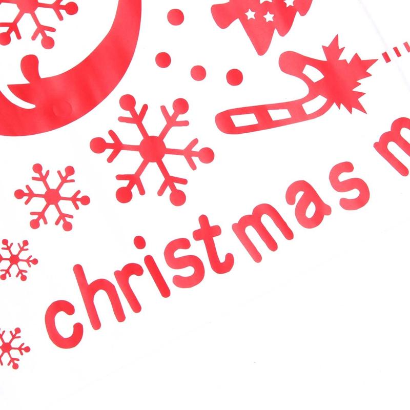 Pegatinas-de-pared-de-Feliz-Navidad-Feliz-Ano-Nuevo-Munecos-de-nieve-Copos-S6A1 miniatura 18