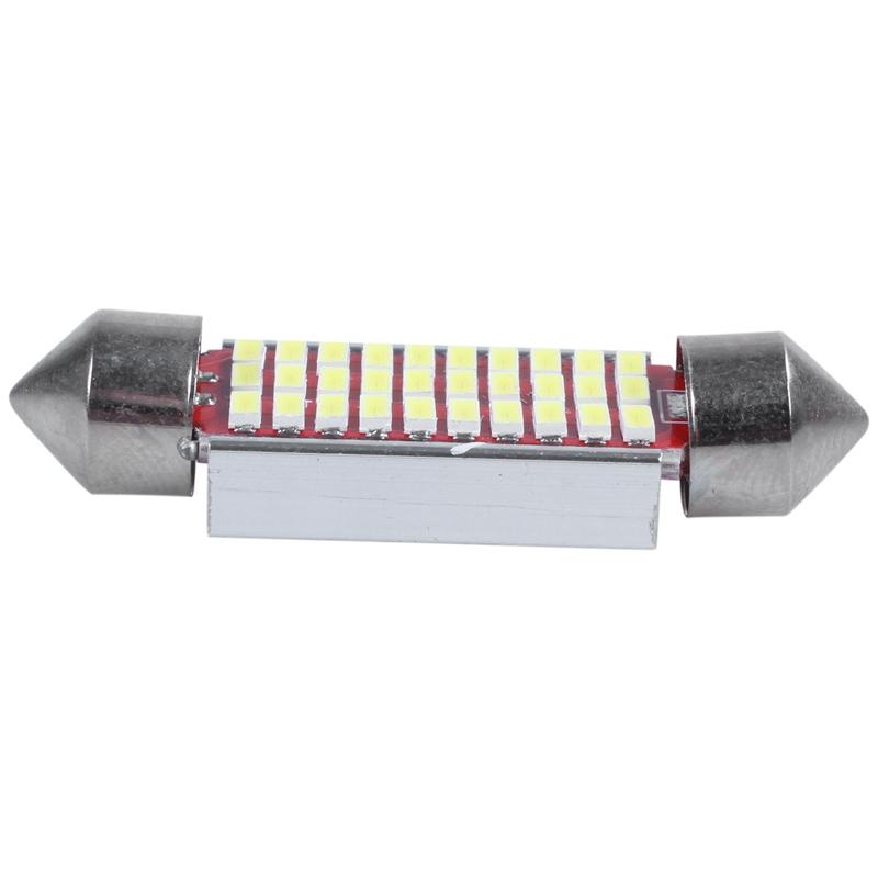 3X-2-Unids-C5W-C10W-3014-18Smd-Adorno-Led-Canbus-Coche-Inteiror-Bombilla-Mat-W6H miniatura 8