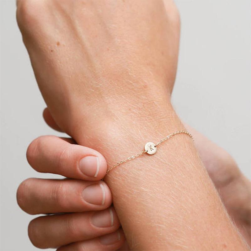 5X-New-Fashion-Women-Bracelet-Gold-Color-Alloy-Letter-Charm-Adjustable-Brac-Y8X9 thumbnail 7