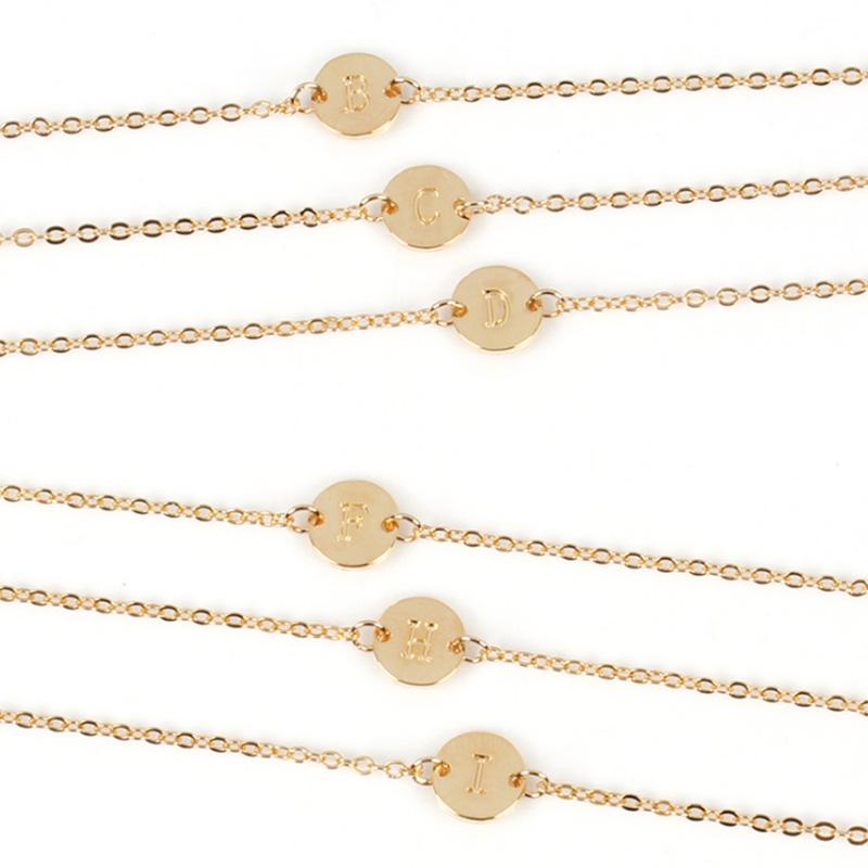 5X-New-Fashion-Women-Bracelet-Gold-Color-Alloy-Letter-Charm-Adjustable-Brac-Y8X9 thumbnail 10
