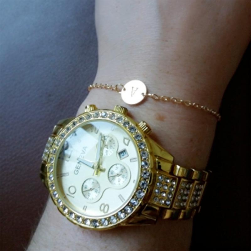 5X-New-Fashion-Women-Bracelet-Gold-Color-Alloy-Letter-Charm-Adjustable-Brac-Y8X9 thumbnail 15