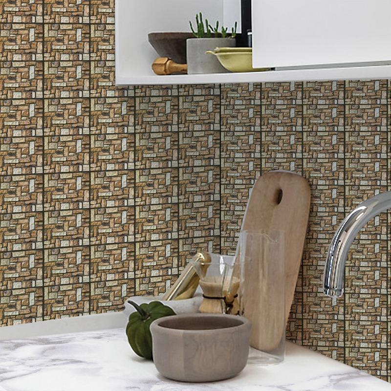 30Cm-X-30Cm-Selbstklebende-Fliesen-Wandkunst-Toilette-Dekor-3D-V4M5 Indexbild 5