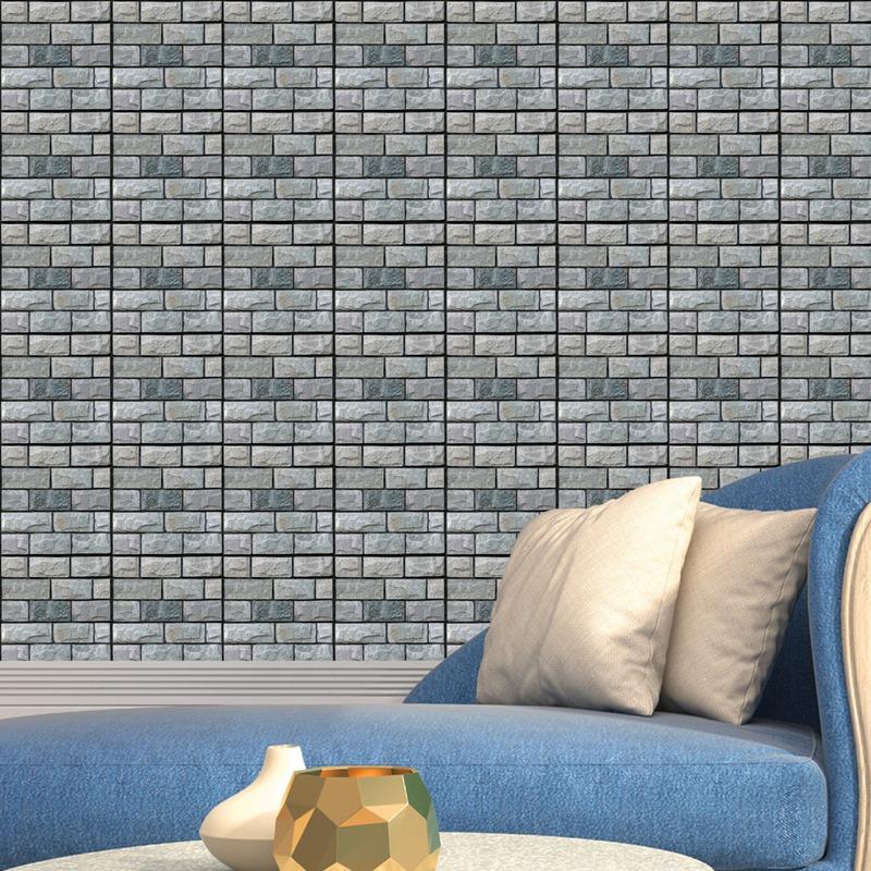 30Cm-X-30Cm-Selbstklebende-Fliesen-Wandkunst-Toilette-Dekor-3D-V4M5 Indexbild 23