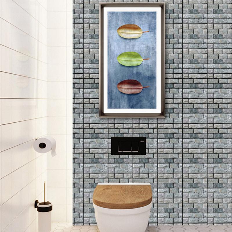 30Cm-X-30Cm-Selbstklebende-Fliesen-Wandkunst-Toilette-Dekor-3D-V4M5 Indexbild 25