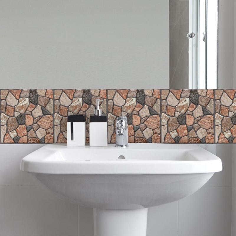 30Cm-X-30Cm-Selbstklebende-Fliesen-Wandkunst-Toilette-Dekor-3D-V4M5 Indexbild 34