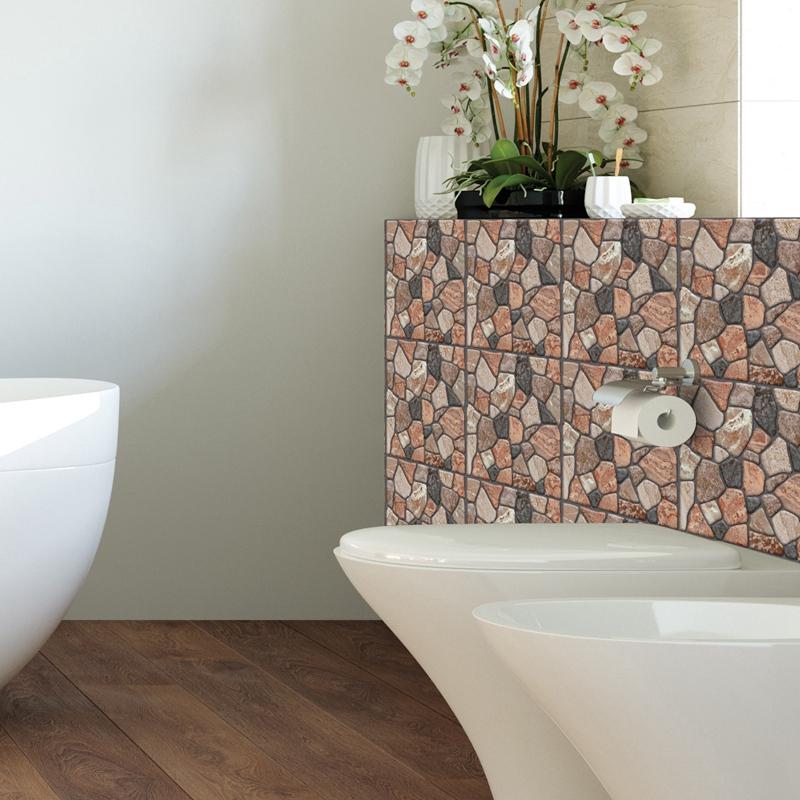 30Cm-X-30Cm-Selbstklebende-Fliesen-Wandkunst-Toilette-Dekor-3D-V4M5 Indexbild 37