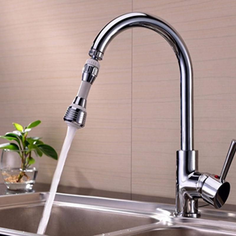 Kitchen-Faucet-Water-Bubbler-Swivel-Head-Adapter-Water-Saving-Tap-Aerator-C-G8P2 thumbnail 2