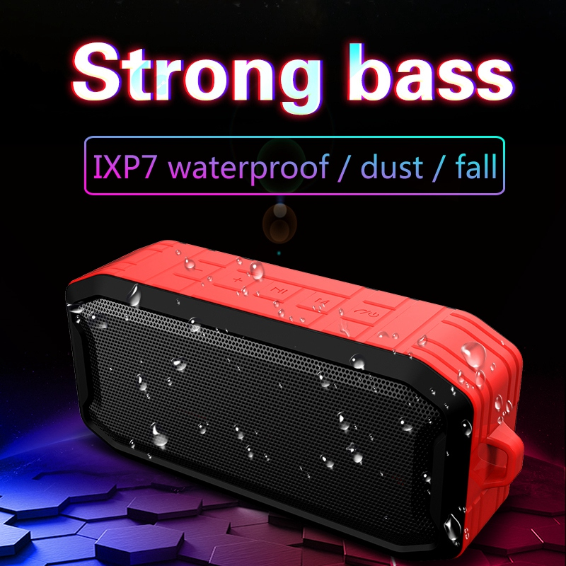 Ipx7-Wasserdichter-Drahtloser-Bluetooth-Lautsprecher-Im-Freien-5-0-Wasserdi-M5J7 Indexbild 3