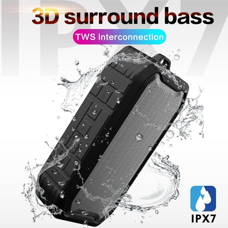Ipx7-Wasserdichter-Drahtloser-Bluetooth-Lautsprecher-Im-Freien-5-0-Wasserdi-M5J7 Indexbild 9