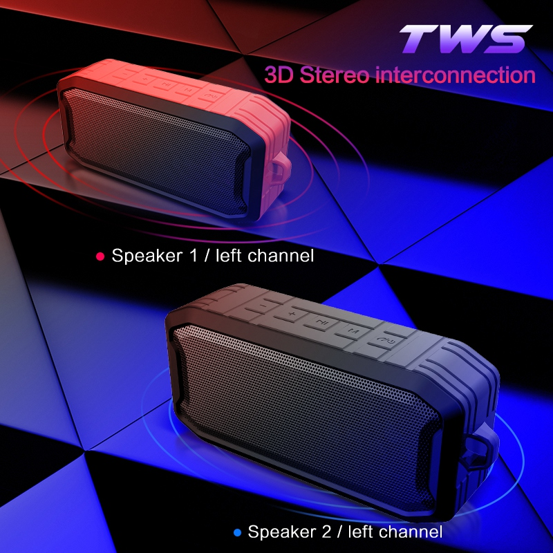 Ipx7-Wasserdichter-Drahtloser-Bluetooth-Lautsprecher-Im-Freien-5-0-Wasserdi-M5J7 Indexbild 26