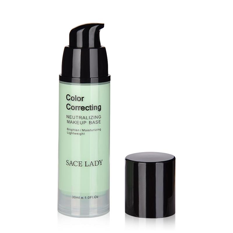 SACE-Dama-base-de-maquillaje-corrector-de-color-de-la-cara-imprimaciones-30Ml-Facial-Corrector-C miniatura 3