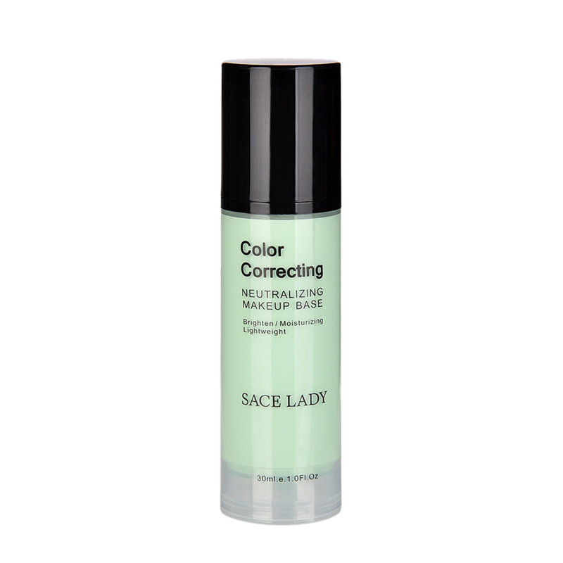 SACE-Dama-base-de-maquillaje-corrector-de-color-de-la-cara-imprimaciones-30Ml-Facial-Corrector-C miniatura 2