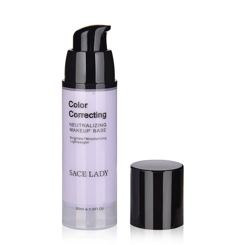 SACE-Dama-base-de-maquillaje-corrector-de-color-de-la-cara-imprimaciones-30Ml-Facial-Corrector-C miniatura 13