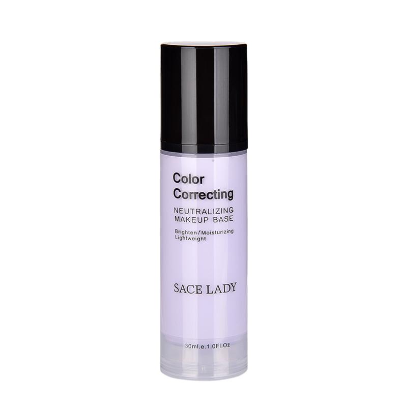 SACE-Dama-base-de-maquillaje-corrector-de-color-de-la-cara-imprimaciones-30Ml-Facial-Corrector-C miniatura 12