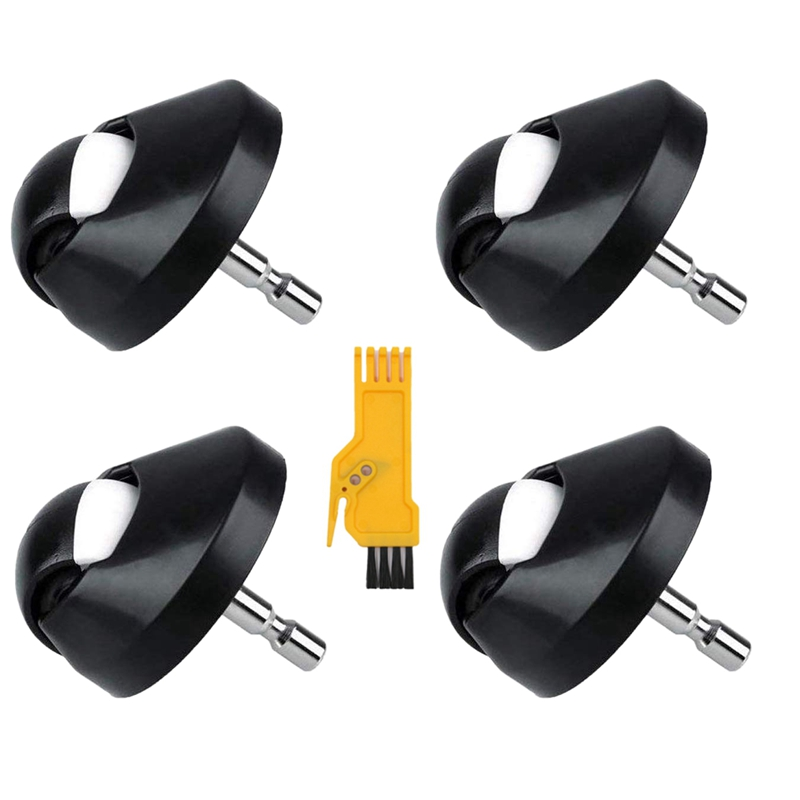 1X front wheel caster assembly 3X 3-arm brush for irobot roomba 500 600 700