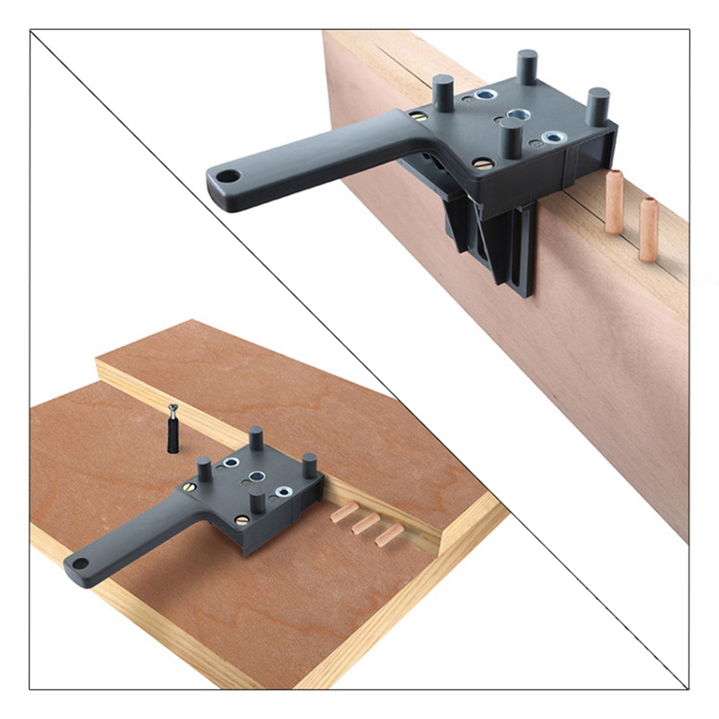 Abs-Plastic-Pocket-Hole-Handheld-Drill-Guide-Jig-With-6-8-10Mm-Drill-Bit-S1J7 thumbnail 5