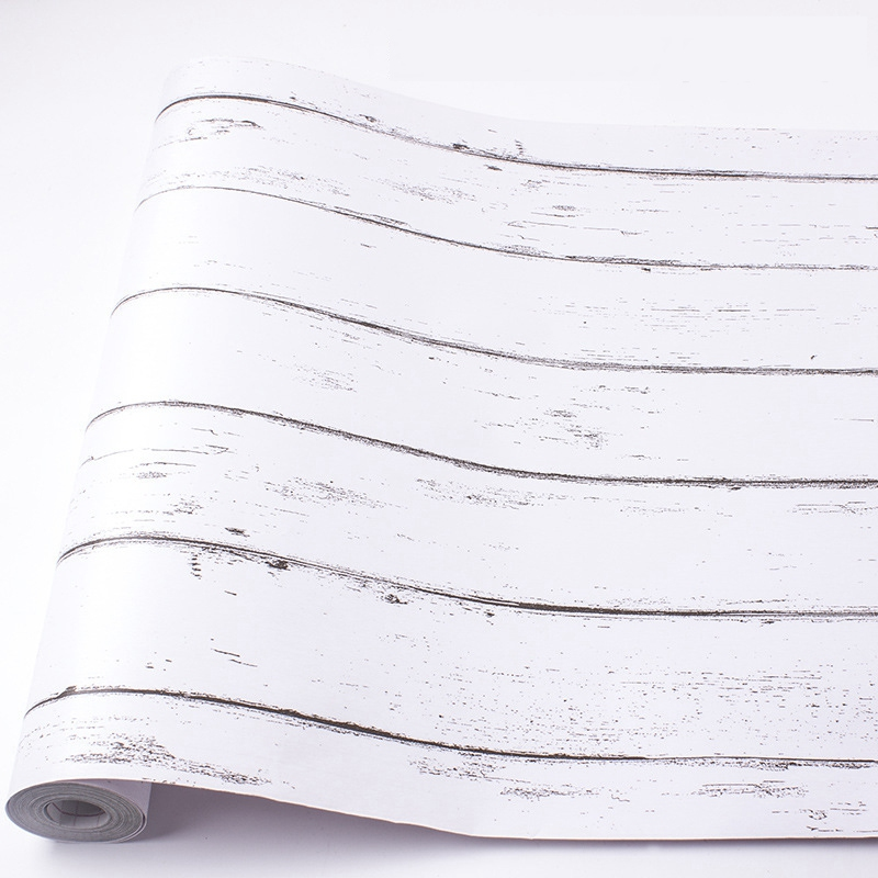 Wood-Grain-Home-Decor-Furniture-Wrap-Waterproof-Wall-Sticker-Self-Adhesive-W2M5 thumbnail 3