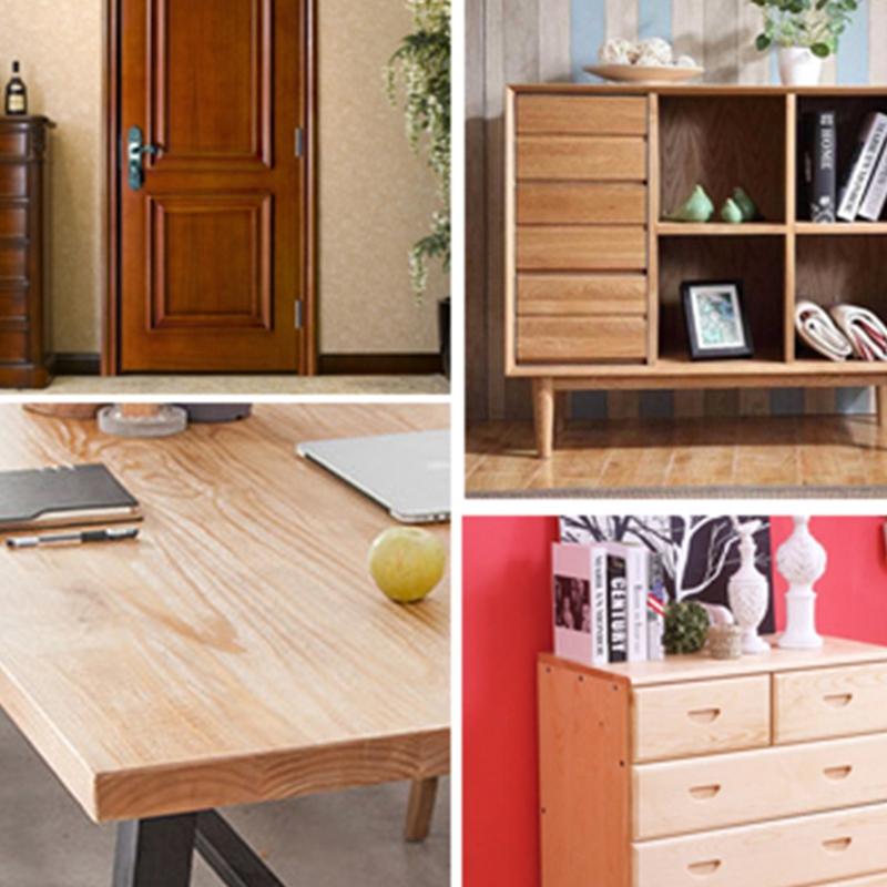 Wood-Grain-Home-Decor-Furniture-Wrap-Waterproof-Wall-Sticker-Self-Adhesive-W2M5 thumbnail 13