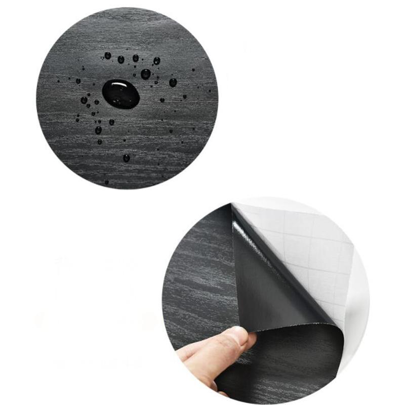Wood-Grain-Home-Decor-Furniture-Wrap-Waterproof-Wall-Sticker-Self-Adhesive-W2M5 thumbnail 24