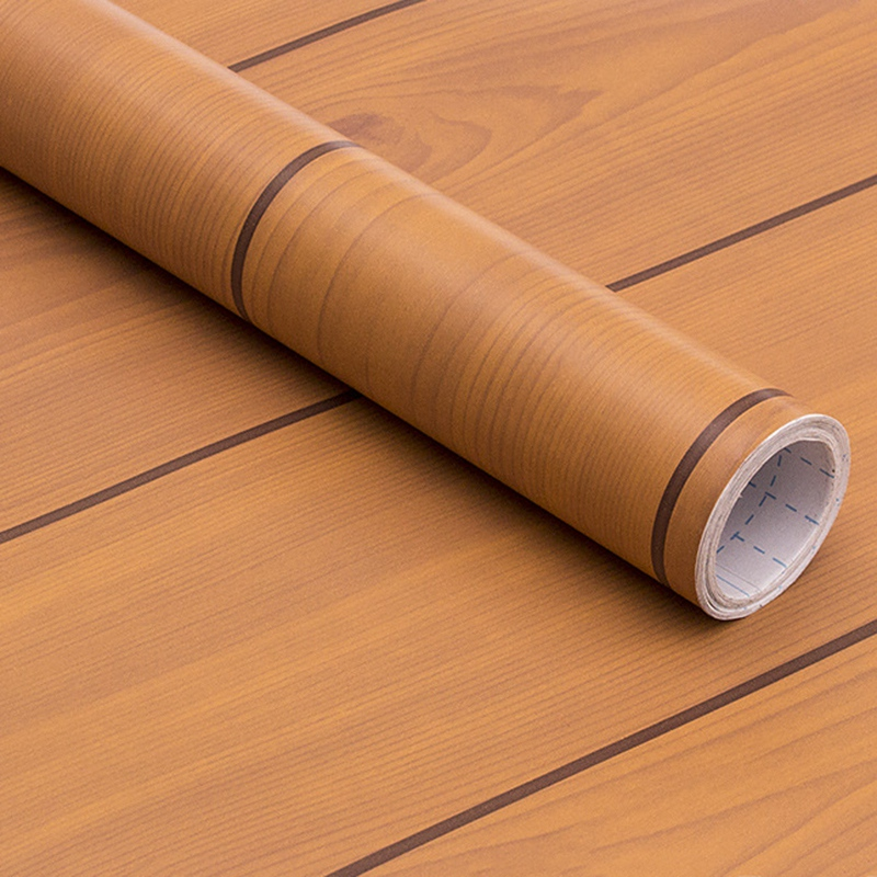 Wood-Grain-Home-Decor-Furniture-Wrap-Waterproof-Wall-Sticker-Self-Adhesive-W2M5 thumbnail 44