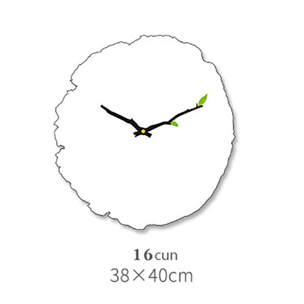 Horloge-Murale-Grain-de-Bois-Horloge-Muette-Du-Salon-Tableaux-Muraux-en-Bois-j1y miniature 4