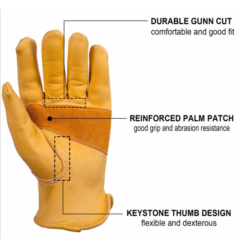 Outdoor-Accessories-Leather-Motorcycle-Gloves-Knight-Riding-Gloves-Retro-Ou-X6X7 thumbnail 4