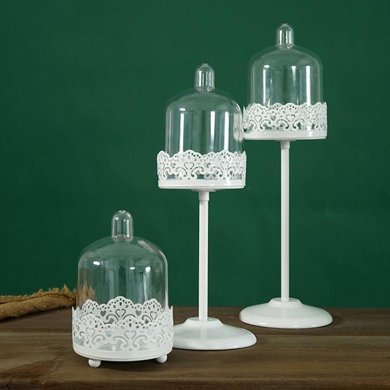 Sweetgo-Mini-Cupcake-Stand-Cake-Display-Tool-With-Pc-Dome-Cap-Bakeware-Tools-2G2 miniature 4
