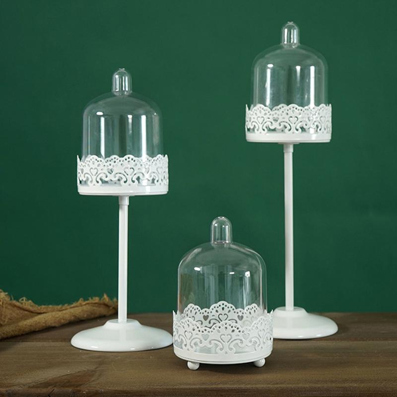 Sweetgo-Mini-Cupcake-Stand-Cake-Display-Tool-With-Pc-Dome-Cap-Bakeware-Tools-2G2 miniature 5