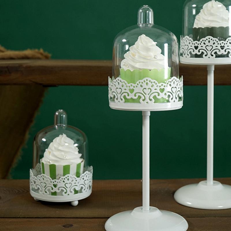 Sweetgo-Mini-Cupcake-Stand-Cake-Display-Tool-With-Pc-Dome-Cap-Bakeware-Tools-2G2 miniature 10