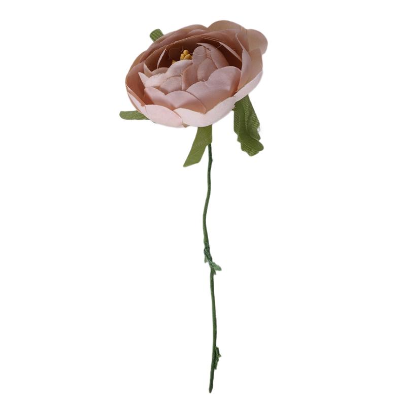 6pcs-Lot-Simulation-Seidentuch-Bouquet-Braut-Haelt-Blumen-Dekorative-Blumen-X7D6 Indexbild 6