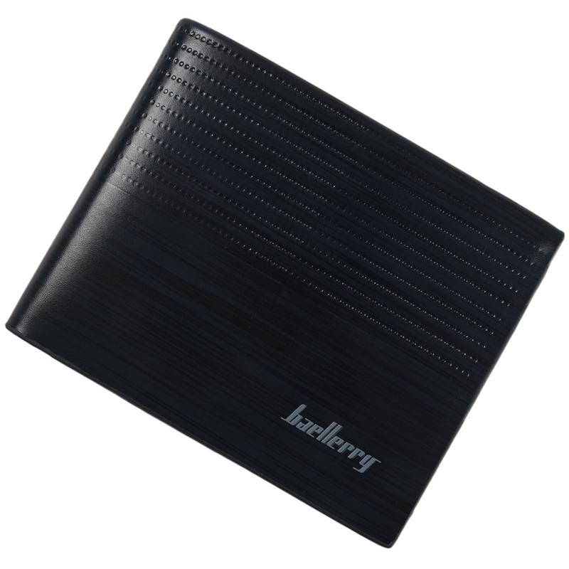 baellerry-Men-Wallet-Leather-Vintage-Purses-High-Quality-Money-Bag-Credit-C-X2C2 thumbnail 3