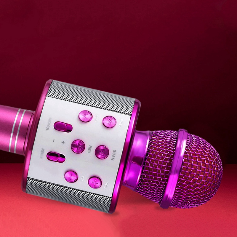 Microfono-de-karaoke-inalambrico-Mini-KTV-en-casa-Bluetooth-portatil-para-t-U2N8 miniatura 4