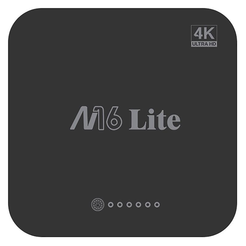 1X-M16-Lite-Android-Smart-Tv-Box-Ddr3-Emmc-Rom-Set-Top-Box-4K-3D-H-265-Wifi-W4Q1 miniatura 3