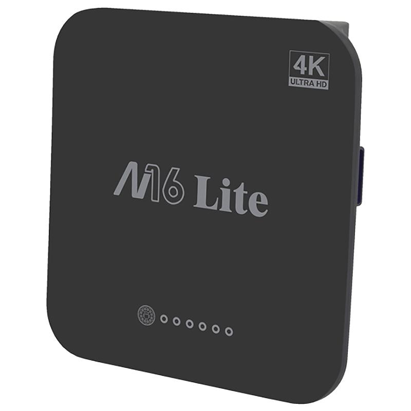 1X-M16-Lite-Android-Smart-Tv-Box-Ddr3-Emmc-Rom-Set-Top-Box-4K-3D-H-265-Wifi-W4Q1 miniatura 5