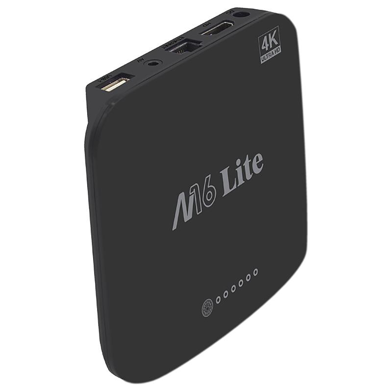 1X-M16-Lite-Android-Smart-Tv-Box-Ddr3-Emmc-Rom-Set-Top-Box-4K-3D-H-265-Wifi-W4Q1 miniatura 6