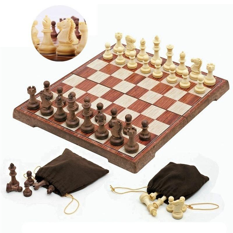 Torneo-de-Tablero-Magnetico-Juego-de-Ajedrez-Portatil-de-Viaje-Nuevo-Tabler-B9I7 miniatura 3