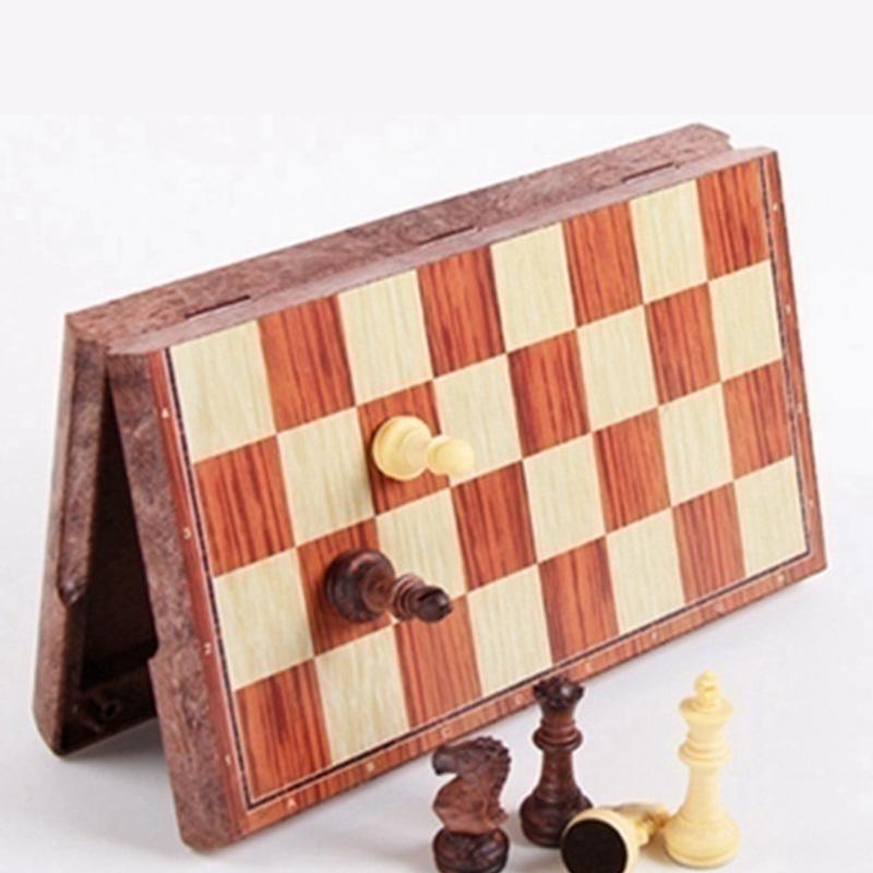 Torneo-de-Tablero-Magnetico-Juego-de-Ajedrez-Portatil-de-Viaje-Nuevo-Tabler-B9I7 miniatura 5