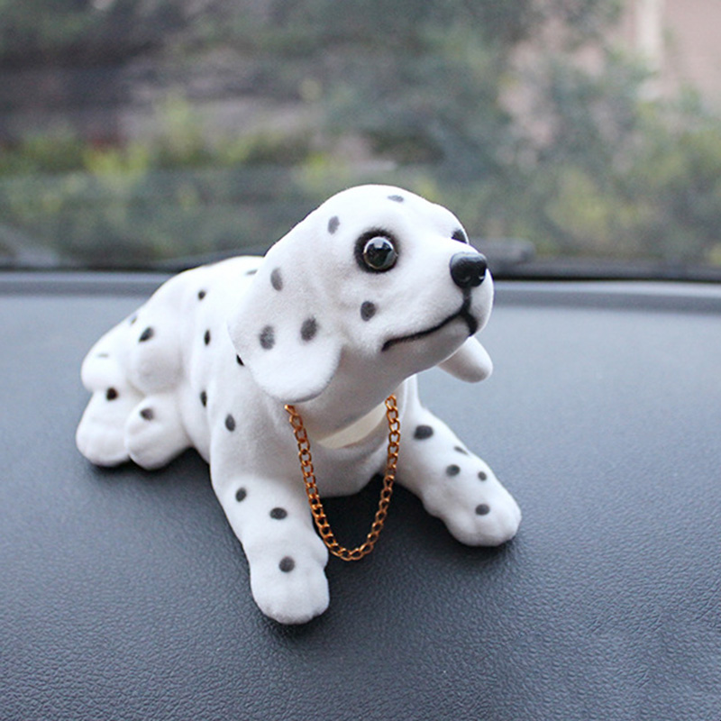 Lucky-Dog-Shaking-Head-Toy-Car-Home-Office-Ornament-I3X4 thumbnail 3