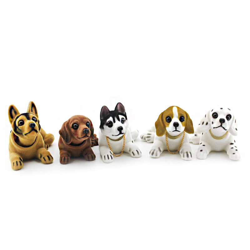 Lucky-Dog-Shaking-Head-Toy-Car-Home-Office-Ornament-I3X4 thumbnail 6