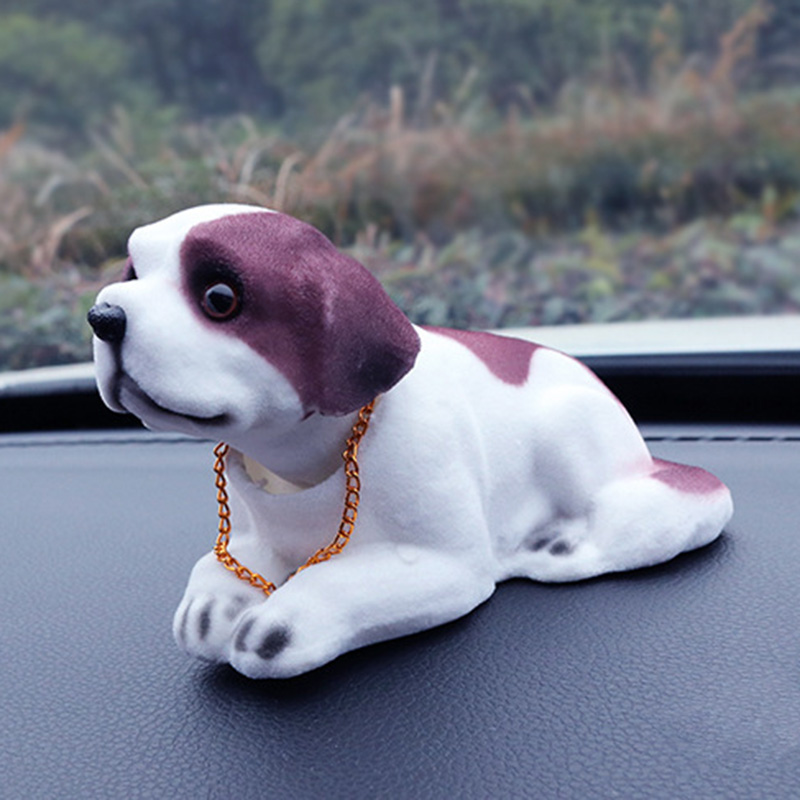 Lucky-Dog-Shaking-Head-Toy-Car-Home-Office-Ornament-U1M5 thumbnail 3